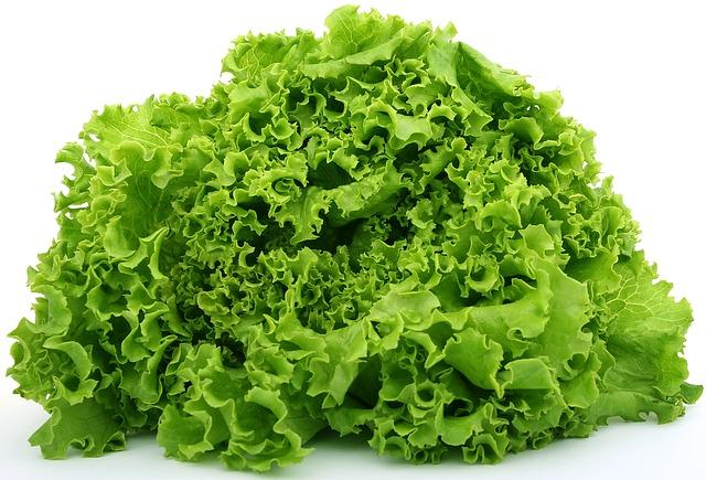 Топ 20 низкокалорийных продуктов: Листовой салат