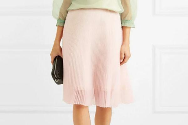 фисташковая блузка