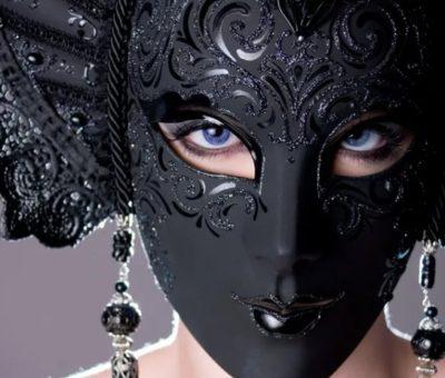 лицо в маске