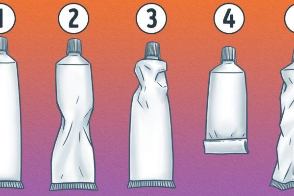 тест:как сжимаете зубную пасту
