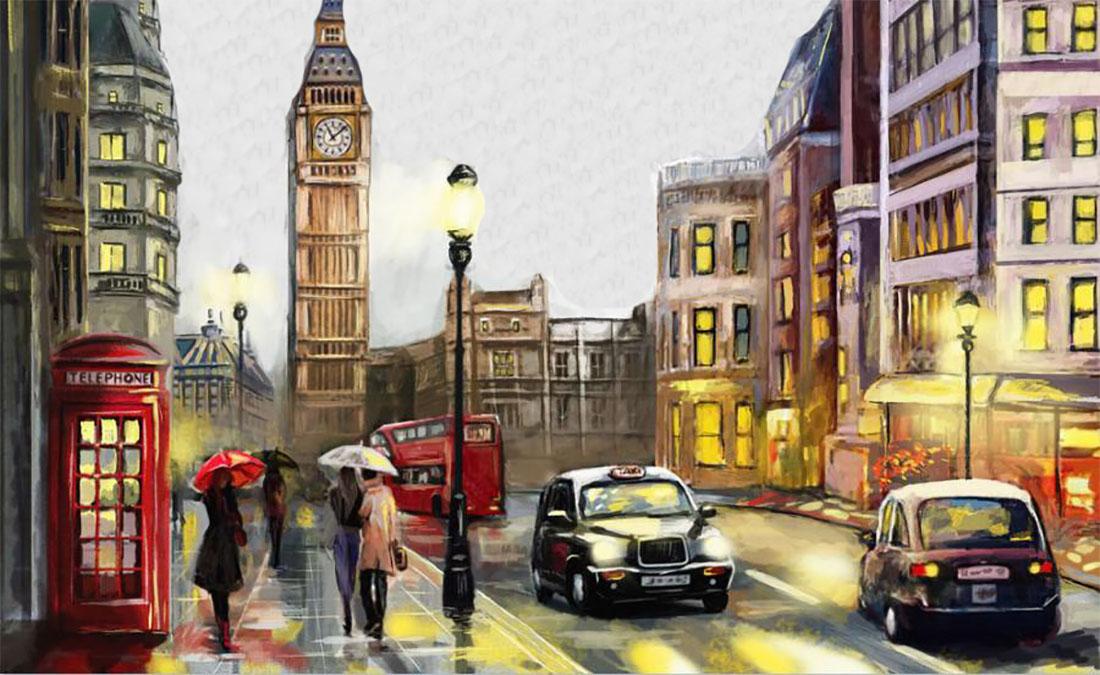 тест на внимательность: необычный лондон