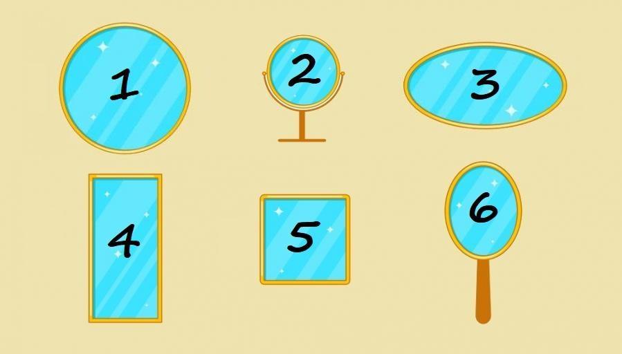 тест: выберите зеркало