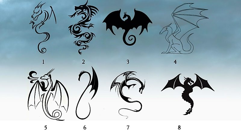 Тест: выберите дракона