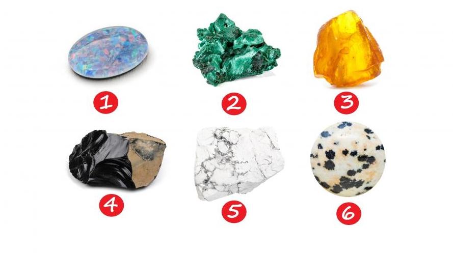 тест выберите камень