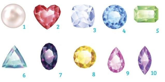 Тест: Выберите драгоценный камень и узнайте свою судьбу!